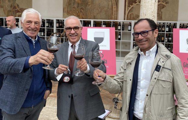 BRUNELLO DI MONTALCINO, cycling, DAVIDE CASSANI, FRANCESCO MOSER, GIRO D'ITALIA, WINE, News