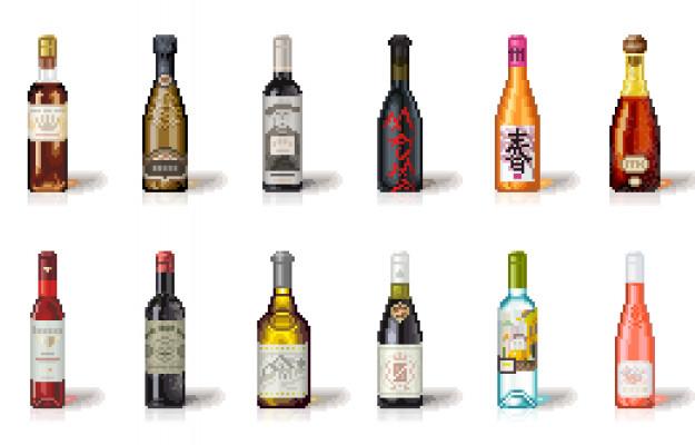 BITWINE, CRYPTOVALUTE, DIGITALE, NFTS, PIXELART, TOKEN, vino, Mondo