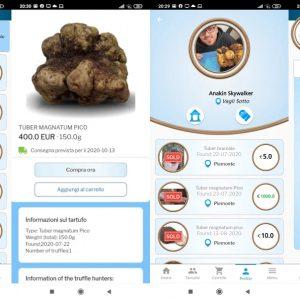 """Tartufo, arriva l'App """"Truffle Market"""", per acquistare solo tartufi 100% italiani tracciabili"""
