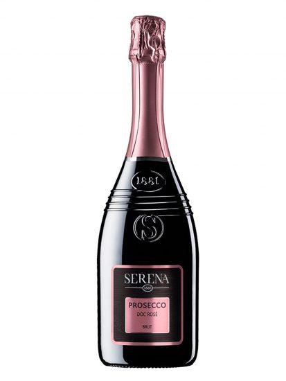 BRUT ROSÉ, PROSECCO, SERENA WINES 1881, Su i Vini di WineNews