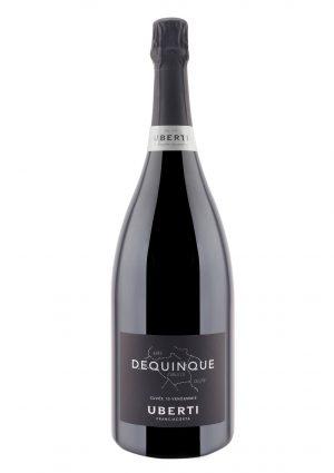 Uberti, Docg Franciacorta Extra Brut Dequinque Cuvée 10 Vendemmie