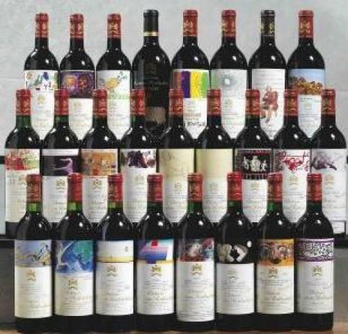Winenews l 8 ottobre asta vini da collezione battuta for Disegni di casa chateau francese