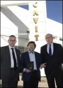 I vertici di Cavit con il climatologo Luca Mercali