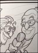 La vignetta del fumetto di Civilt� del Bere dedicata a WineNews