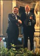 Il gemellaggio tra Chianti Classico e Champagne con Zingarelli e Perrin oggi a Firenze