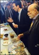 Il Ministro Martina e il Fondatore di Slow Food Petrini