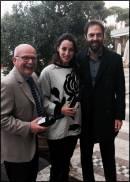 Alberto Mazzoni, Elisa Di Francisca e Neri Marcor�