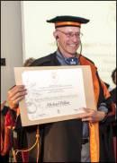 Il giornalista Michael Pollan riceve la laurea Honoris Causa a Pollenzo