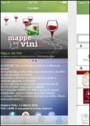 La app Mappe dei Vini con tutte le Doc e Docg italiane a portata di touch