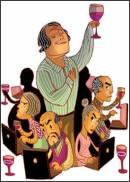 Il vino sempre pi� protagonista di Internet