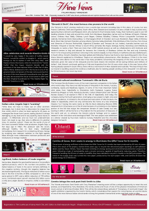 Italian Weekly WineNews - Issue 390