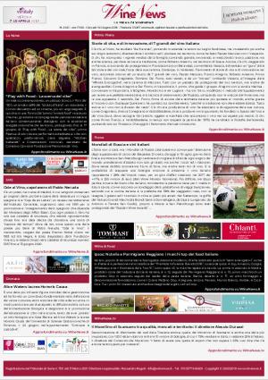 La Prima di WineNews - N. 2422